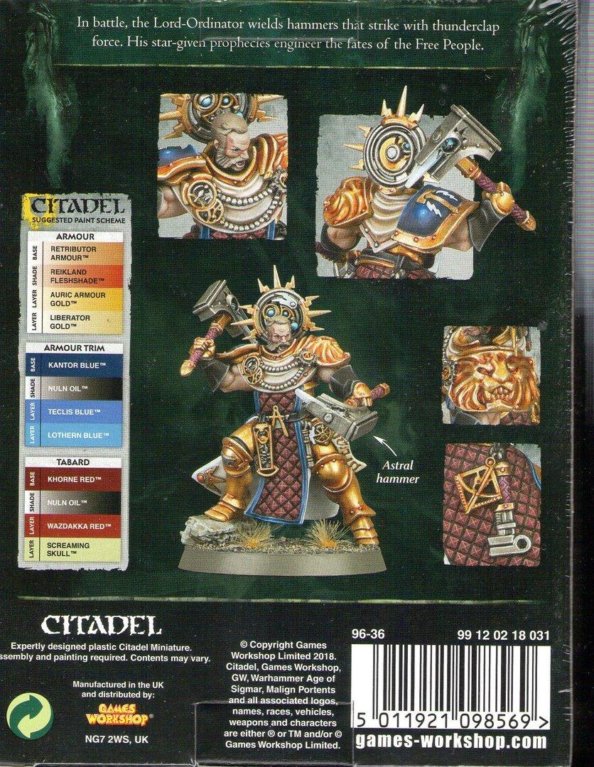 Citadel Stormcast Eternals Lord-Ordinator Warhammer Age of Sigmar